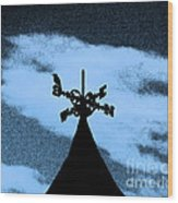 Spooky Silhouette Wood Print by Al Powell Photography USA