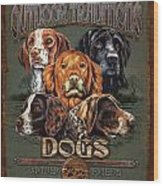 Sporting Dog Traditions Wood Print