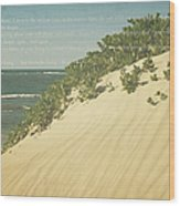 Sprecks - The Dunes Wood Print