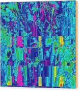 Spring - Gradient Wood Print by Colleen Cannon