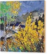 Spring 45214032 Wood Print