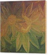 Spring Bloom Wood Print by Shadrach Ensor