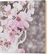 Spring Blossom Wood Print by Amanda Elwell