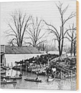 Spring Flood, 1903 Wood Print