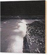 Spring Flood Foam Bath Wood Print