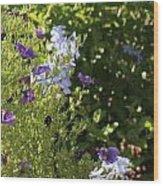 Spring Garden 2 Wood Print