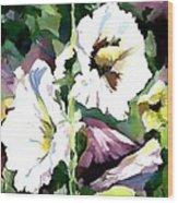Spring Holly Wood Print