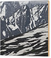 Spring In Alaska Mountains Wood Print by Michael S. Quinton