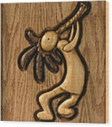 Spring Jam A Wood Print
