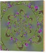 Spring Spiral. Wood Print