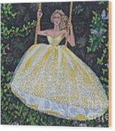 Spring Swing Wood Print