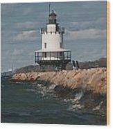 Springpoint Ledge Light House Wood Print