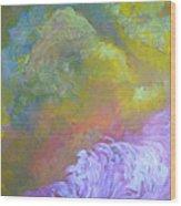Springscape Wood Print