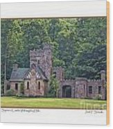 Squires Castle Wood Print
