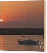 St. Augustine Sunrise Wood Print