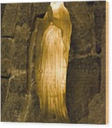 St Barbara - Wielczka Salt Mine Wood Print