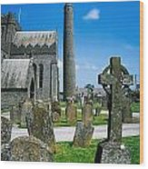 St. Canices Cathedral, Kilkenny City Wood Print