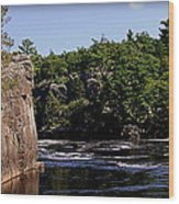 St. Croix River Bluffs  Wood Print