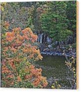 St Croix River Wood Print