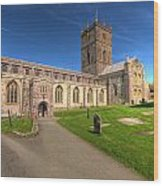 St Davids Cathedral 5 Wood Print