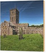St Davids Cathedral 6 Wood Print