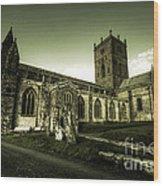 St Davids Cathedral Wood Print