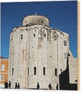 St. Donatus Church In Zadar Wood Print