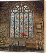 St Dyfnog Church Wood Print