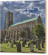 St Edmund King And Martyr Southwold Wood Print