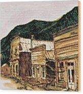 St. Elmo Nevada Wood Print