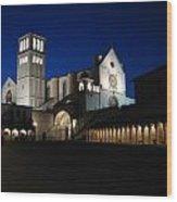 St. Francis Basilica Wood Print