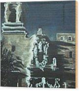 St Francis On The Brazos Wood Print by Patsy Gunn