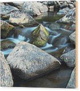 St Francis River At Dusk I Wood Print