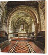 St Georges Church At Hampnett Gloucestershire Wood Print