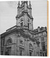 St Georges-tron Church Nelson Mandela Place Glasgow Scotland Uk Wood Print