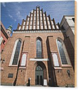 St. John Archcathedral In Warsaw Wood Print