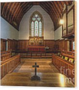 St John's Church Altar - Filey  Wood Print