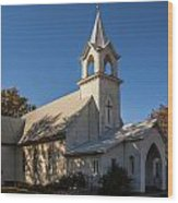 St. John's Lutheran Church Wood Print