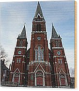 St. Josaphat Roman Catholic Church Detroit Michigan Wood Print by Gordon Dean II
