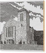 St. Joseph Apache Cathedral Wood Print