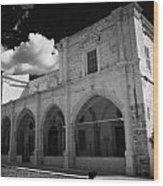 St Josephs Convent And Catholic Church St Joseph De L Apparition Larnaca Republic Of Cyprus Wood Print by Joe Fox