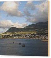 St. Kitts Wood Print