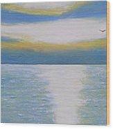 St Lawrence River Eagle Wood Print