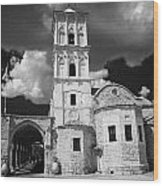 St Lazarus Church With Belfry Larnaca Republic Of Cyprus Europe Wood Print
