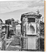 St Louis Cemetery - New Orleans Wood Print