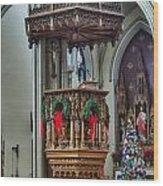 St Louis Church 11 Wood Print
