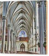 St Louis Church 15 Wood Print