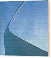 St. Louis: Gateway Arch Wood Print