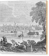 St. Louis, Missouri, 1854 Wood Print