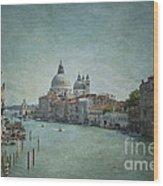 St Maria Della Salute Wood Print